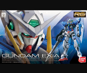 RG (15) Gundam Exia 1/144 Celestial Being Mobile Suit GN-001 - Megazone