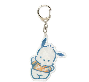 Pochacco Key Chain with Sparkling Hologram by Sanrio - Megazone