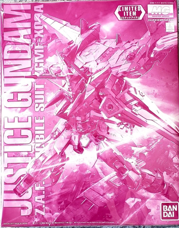 (MG) Justice Gundam 1/100 Z.A.F.T. Mobile Suit ZGMF-X09A (Limited Edition) - Megazone