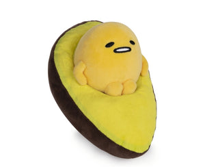 "Gudetama The Lazy Egg Avocado Plush 9"" by Gund/ Sanrio - Megazone"