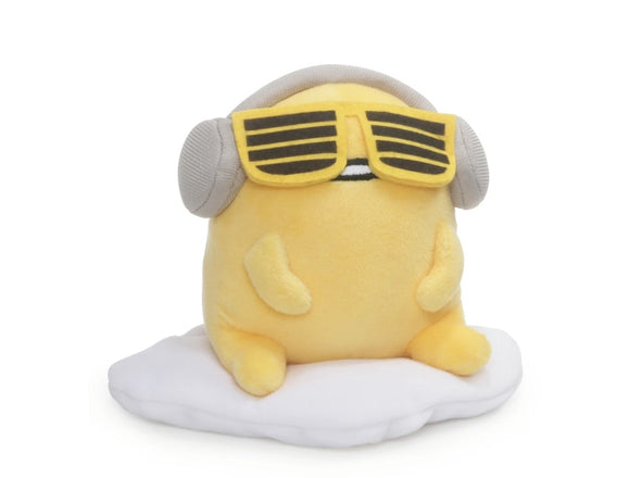 Gudetama the Lazy Egg with Headphones 5 in by Gund/ Sanrio - Megazone