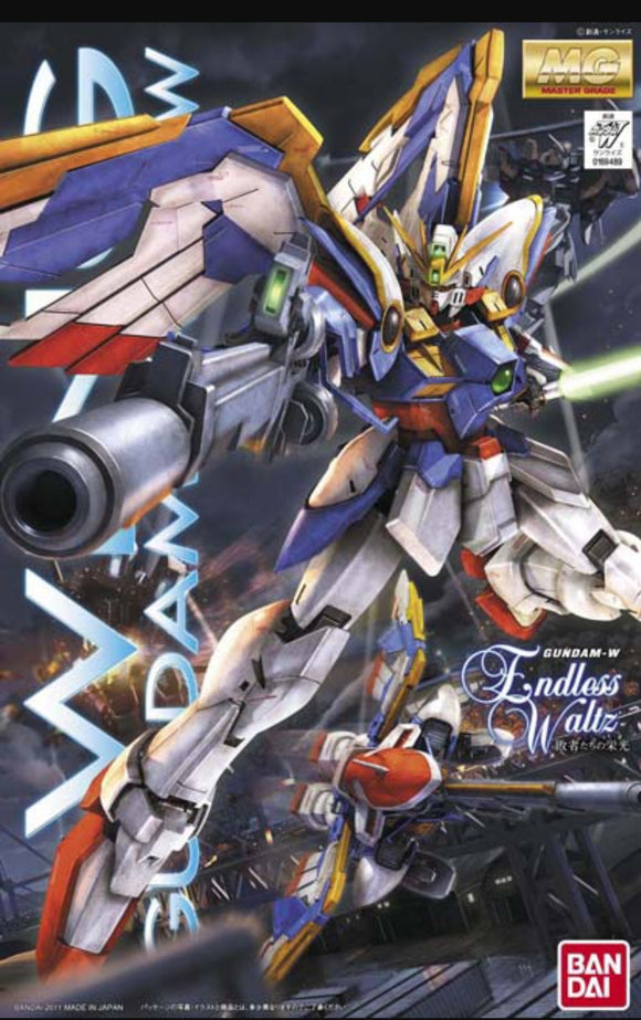 (MG)  Wing Gundam 1/100 XXXG-01W New Mobile Report Gundam W Endless Waltz - Megazone