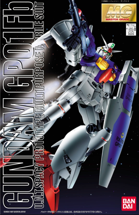 (MG) Gundam GP01 Fb 1/100 Y.N.T.Spacy Prototype Multipurpose Mobile Suit - Megazone