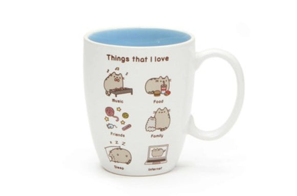 Things I love Pusheen Mug by Gund - Megazone