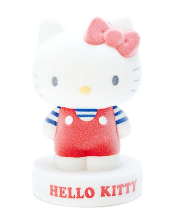 Hello Kitty PVC / 3D Mascot Flocked Coin Bank by Sanrio - Megazone