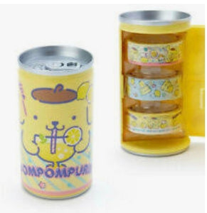 Pompompurin Can of Washi Tape by Sanrio - Megazone