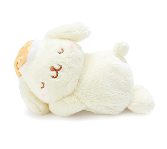 Pompompurin Sleeping Time Plush / Cushion with Warmer by Sanrio - Megazone