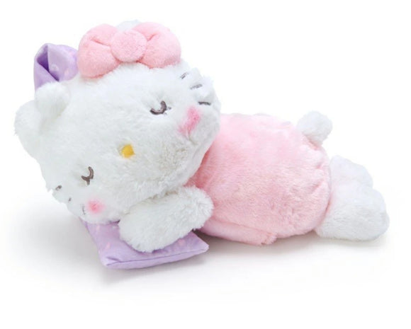 Hello Kitty Sleeping Time Plush / Cushion with Warmer by Sanrio - Megazone