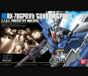 (HGUC) #18 1/144 RX-78GP01Fb Gundam GP01Fb E.F.S.F. Prototype Multipurpose Mobile Suit - Megazone