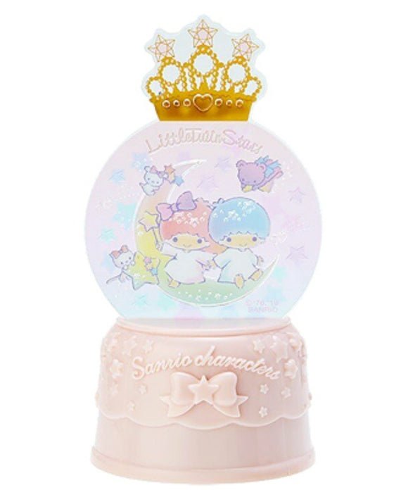 Little Twin Stars Flash Light Snow Globe Decor by Sanrio - Megazone