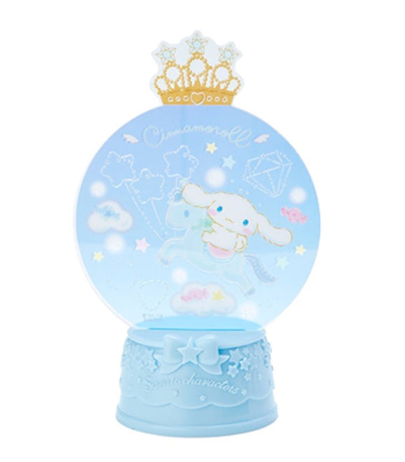 Cinnamoroll Flash Light Snow Globe Decor by Sanrio - Megazone