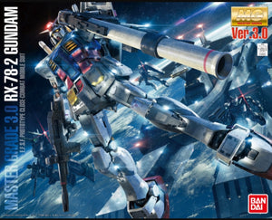 (MG) 1/100 RX-78-2 Gundam Ver.3.0 E.F.S.F. Prototype Close-Combat Mobile Suit - Megazone