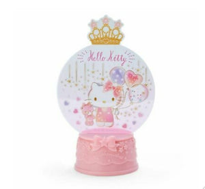 Hello Kitty Flash Light Snow Globe Decor by Sanrio - Megazone