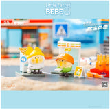 "1 Bebe ""The Little Parrot City Corner Mystery"" Capsule by Moetch Toys x OTOY + 1 Kawaii Sticker"
