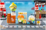 "Bebe ""The Little Parrot City Corner Mystery"" Capsule Toys by Moetch Toys x OTOY"