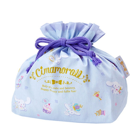 Cinnamoroll Drawstring Accessories/Lunch Pouch by Sanrio
