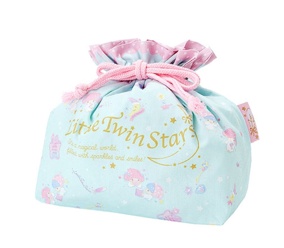 Little Twin Stars Drawstring Accessories/ Lunch Pouch by Sanrio
