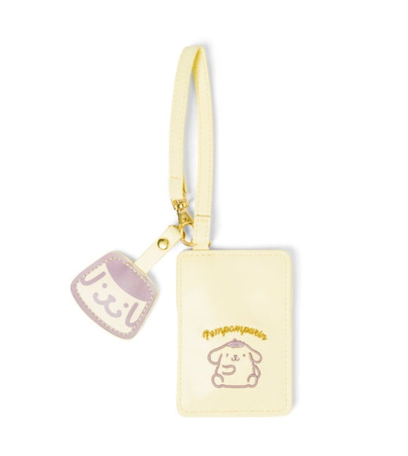 Pompompurin Pastel Case / luggage tag by Sanrio