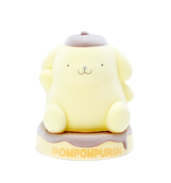 Pompompurin PVC / 3D Mascot Flocked Coin Bank by Sanrio