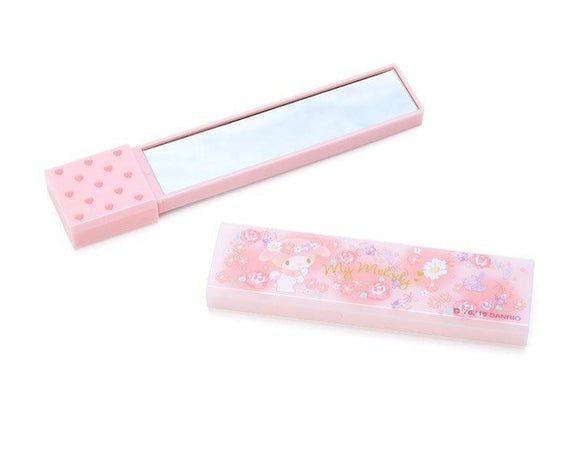 My Melody Compact/2 Ways Mirror with Flower by Sanrio