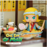 One Day of Molly Blind Box Series by Kennyswork x POP MART+ 1 Kawaii Sticker