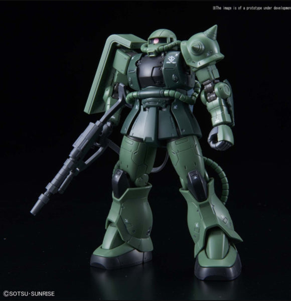 (HG) 1/144 The Origin MS-06C-6/R6 Zaku II Type C-6/R6 Principality of Zeon Mass-Produced Mobile Suit