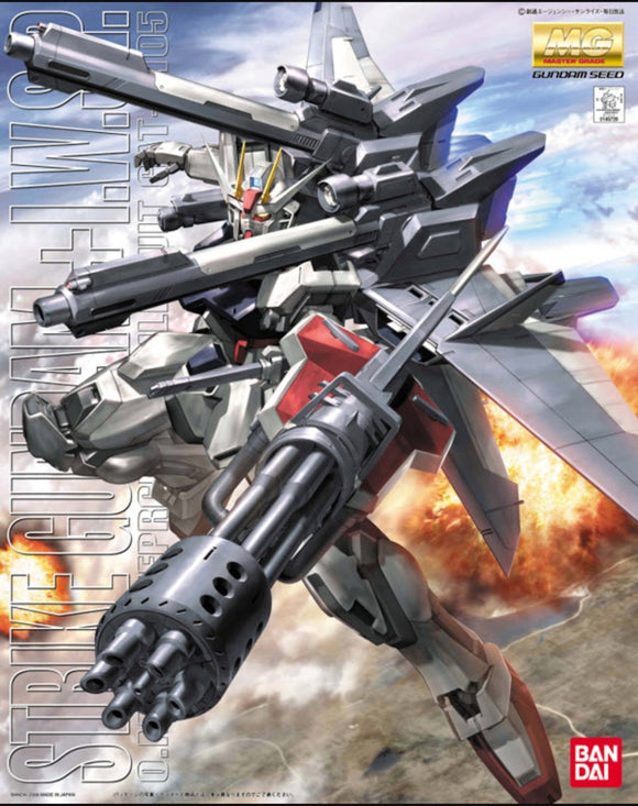 (MG) 1/100 Strike Gundam+I.W.S.P.  O.M.N.I. Enforcer Mobile Suit GAT-X105