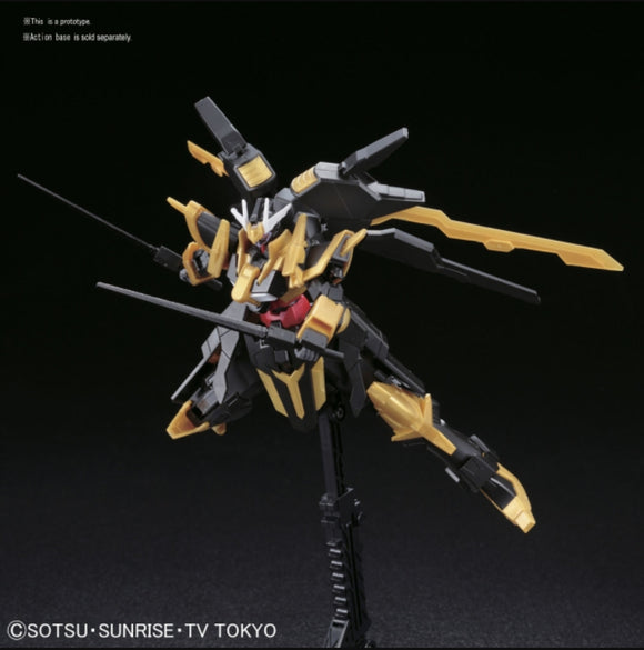 (HGBF) #055 1/144 Gundam Schwarzritter Masked Second G [Generation] 's Mobile Suit