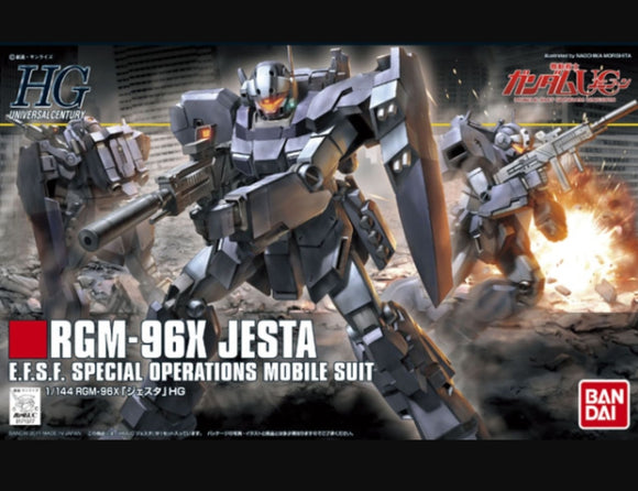 (HGUC) #130 1/144 RGM-96X Jesta E.F.S.F. Special Operations Mobile Suit
