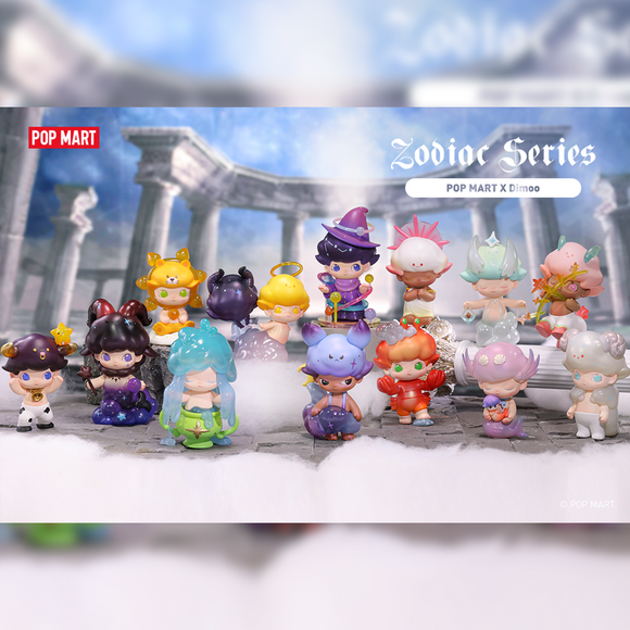 Dimoo Zodiac Series Blind Box by POP MART+ 1 Kawaii Sticker