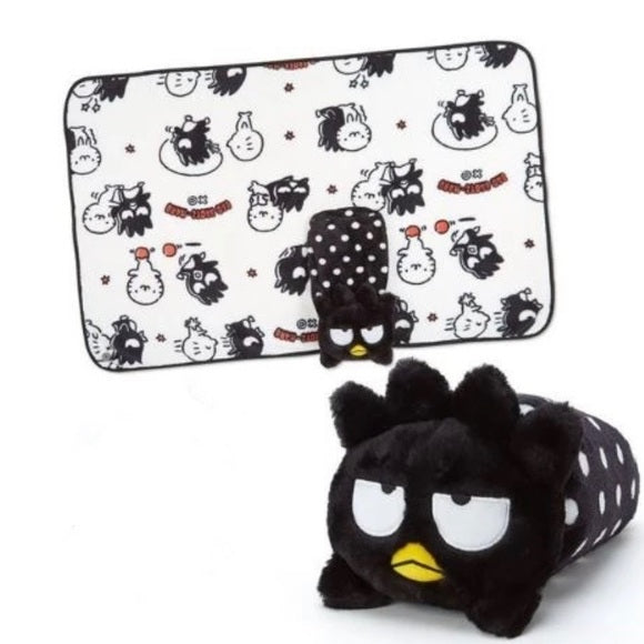 Bad Badtz-Maru Plush Cushion/ Blanket And Case Collection by Sanrio