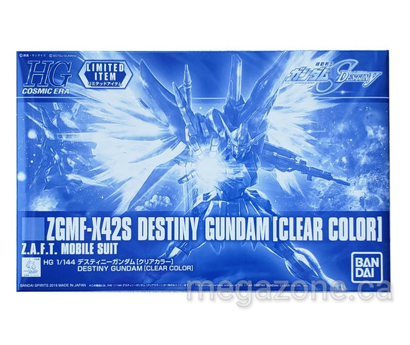 (HGCE) 1/144 Destiny Gundam [Clear Color] - Megazone