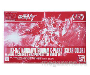(HGUC) 1/144 RX-9/C Narrative Gundam C-Packs [Clear Color] - Megazone