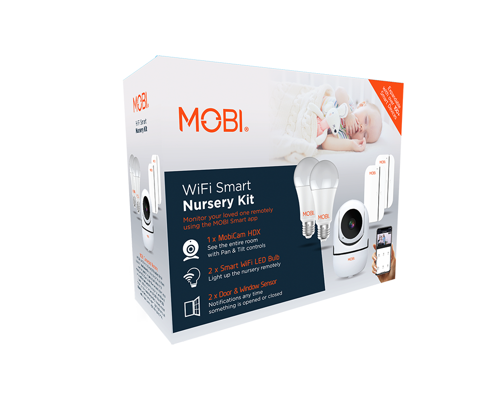 Wi-Fi Smart Nursery Monitoring Kit