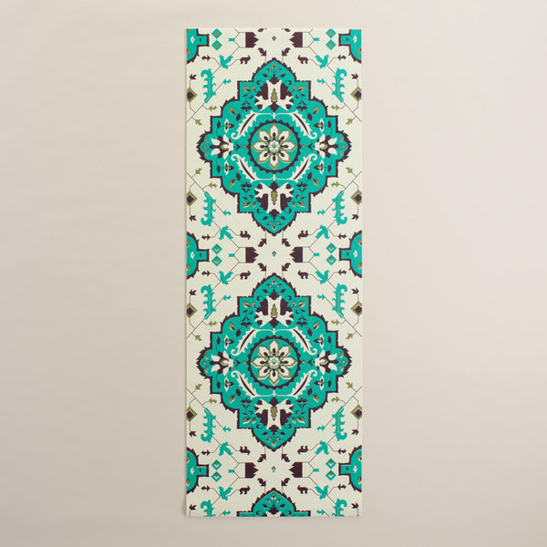 Printed Traditional Yoga Mat - Mandala Designed