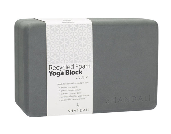 Light Weight Recycled Foam Yoga Block