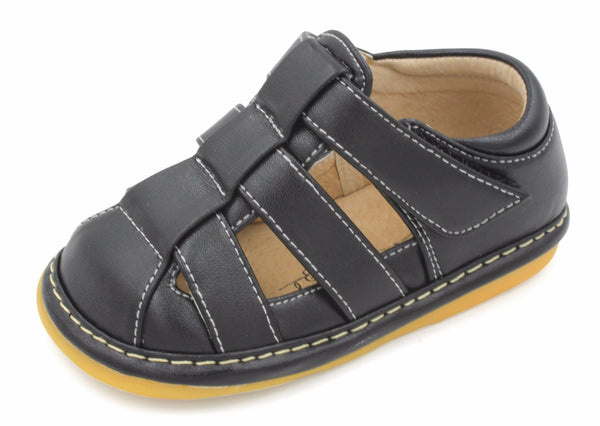 Squeaky Shoes For Toddlers   Boys Black