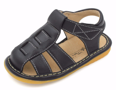 Black Boy Squeaky Sandals