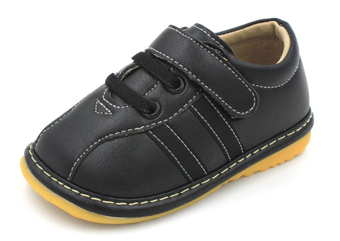 Black Boy Sneakers Squeaky Shoes