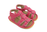 Hot Pink Two Flower Squeaky Sandal