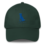 The Dark Green Curved Chugg Cap