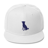 The White Chugg Snapback