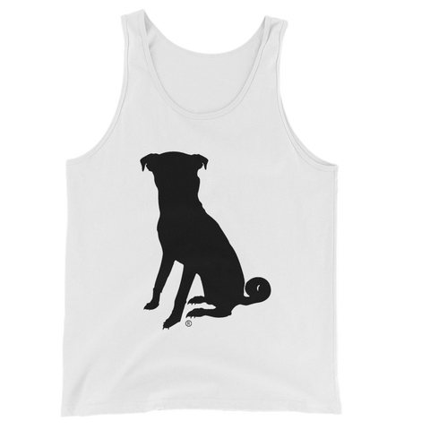 The Unisex Chugg Tank Top - White