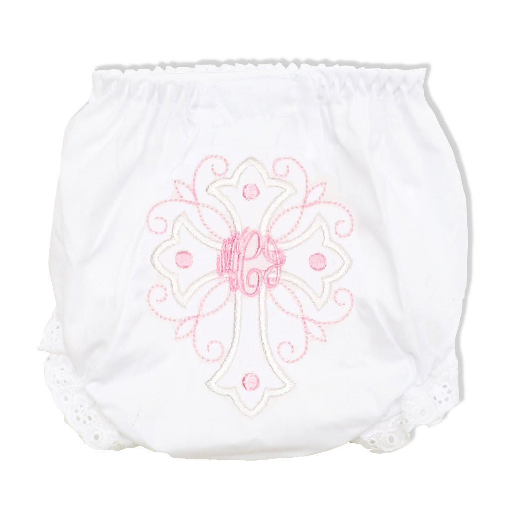 Cross Bloomers-Miss Monogram