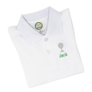 Golf Ball Golf Shirt