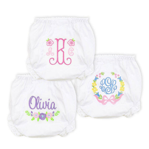 Freshly Picked Bloomer Set-Miss Monogram
