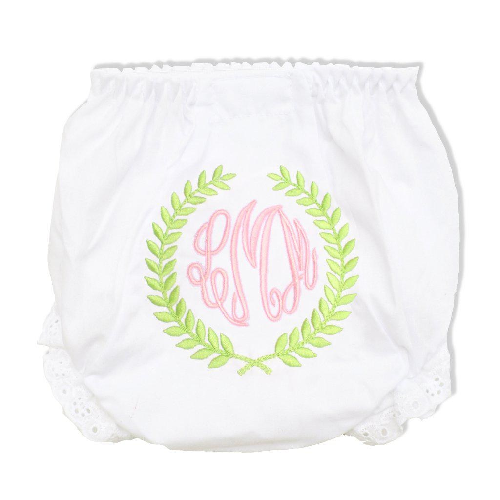 Laurel Diaper Cover-Miss Monogram