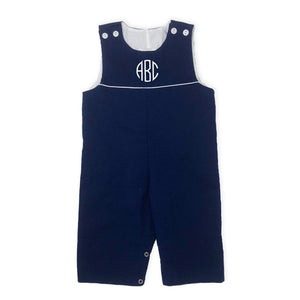 Navy Blue Longall-Miss Monogram