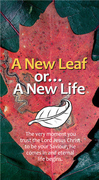 A New Leaf or… A New Life