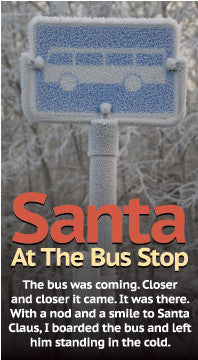 Santa at the Bus Stop